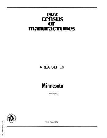 1972 Census of Manufactures PDF