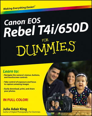 Canon EOS Rebel T4i 650D For Dummies