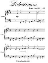 Liebestraum Easiest Piano Sheet Music