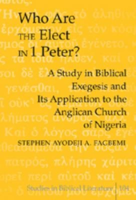 Who are the Elect in 1 Peter  PDF