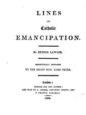 Lines on Catholic Emancipation