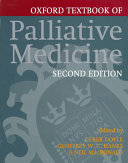 Oxford Textbook of Palliative Medicine PDF