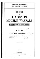 Notes on Liaison in Modern Warfare ...