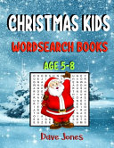 Christmas Kids Wordsearch Books Age 5 8