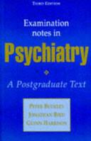 Examination Notes in Psychiatry  3Ed PDF