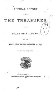 Annual Report of the Treasurer of the State of Alabama