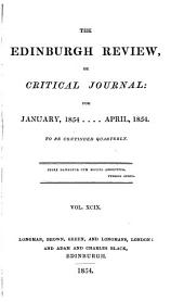 The Edinburgh Review, Or Critical Journal: Volume 66; Volume 99