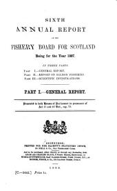 Annual Report of the Fishery Board for Scotland: Volume 6, Part 1887