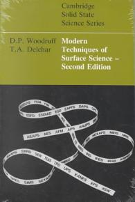Modern Techniques of Surface Science PDF