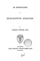 An introduction to qualitative analysis