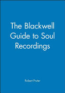 The Blackwell Guide to Soul Recordings