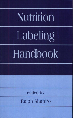 Nutrition Labeling Handbook