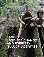 Land Use  Land Use Change  and Forestry  LULUCF  Activities PDF