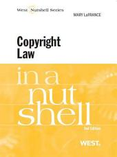 LaFrance's Copyright Law in a Nutshell, 2d: Edition 2