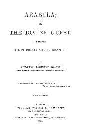 ARABULA; OR, THE DIVINE GUEST