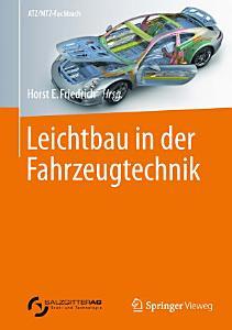 Leichtbau in der Fahrzeugtechnik PDF