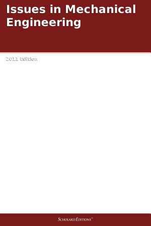Issues in Mechanical Engineering  2011 Edition