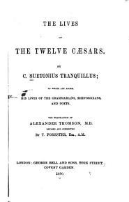 The Lives of the Twelve Caesars PDF