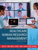 Healthcare Human Resource Management PDF