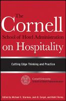The Cornell School of Hotel Administration on Hospitality PDF