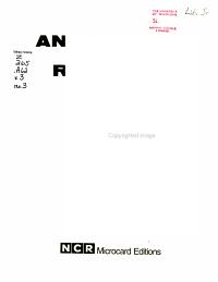 Announced Reprints PDF