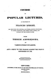 Course of Popular Lectures,