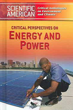 Critical Perspectives on Energy and Power PDF