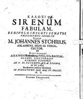 Sirenum Fabulam