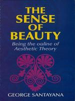 The Sense of Beauty PDF