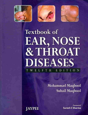 Textbook of Ear, Nose and Throat Diseases