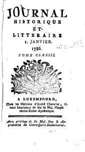 Journal historique et littéraire: Volumes173à174