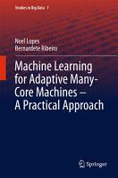 Machine Learning for Adaptive Many Core Machines   A Practical Approach PDF