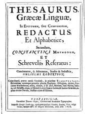 Thesaurus graecae linguae