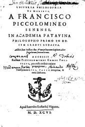 Universa Philosophia De Moribus
