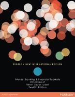 Principles of Money  Banking   Financial Markets  Pearson New International Edition PDF