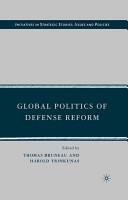 Global Politics of Defense Reform PDF
