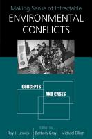 Making Sense of Intractable Environmental Conflicts PDF