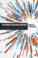 My Biggest Research Mistake PDF