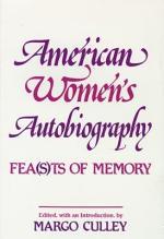 American Women's Autobiography