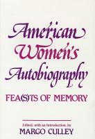 American Women s Autobiography PDF