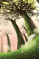 The Foggy Forest Notebook
