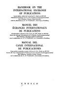 Download Handbook on the international exchange of publications Book