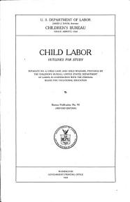 Child Labor  Outlines for Study PDF