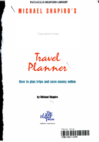 Michael Shapiro s Internet Travel Planner