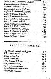 L' Astrée de messire Honoré d'Urfé... (-La Conclusion... par le Sr. Baro)