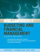Not-for-Profit Budgeting and Financial Management: Edition 4