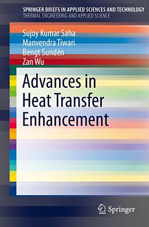 Advances in Heat Transfer Enhancement PDF