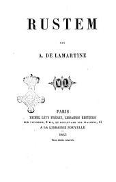 Rustem par A. De Lamartine