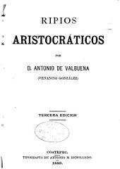 Ripios aristocráticos