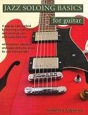 Jazz Soloing Basics for Guitar PDF